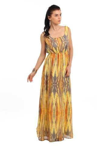 Femella Women Yellow Dress