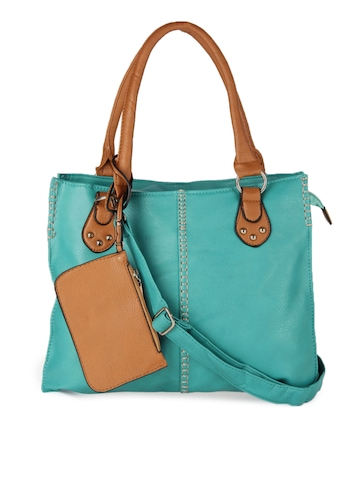 Fidato Sea Blue Handbag