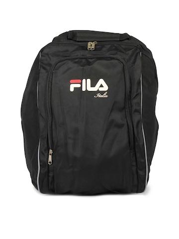Fila Unisex Black Backpack