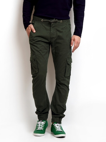 olive green cargo pants for men - Pi Pants