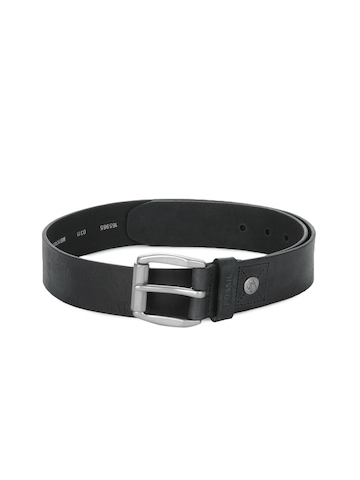 Fossil Men Black Belt