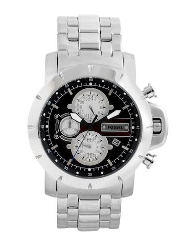 Fossil Men Black Dial Chronograph Watch JR1265