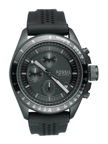 Fossil Men Black Chronograph Watch CH2703