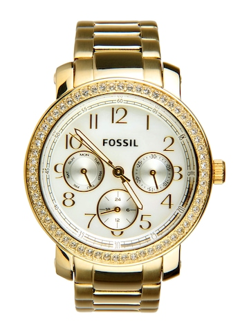Fossil Women White Dial Watch ES2968