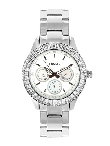Fossil Women White Dial Watch ES2956