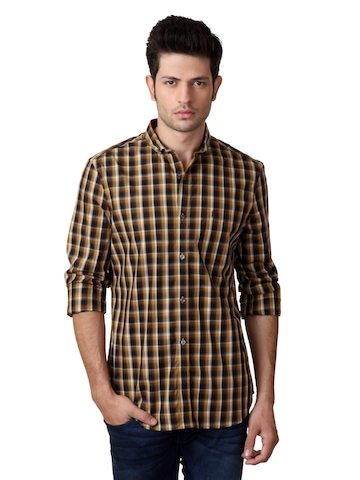 French Connection Men Brown Shirt