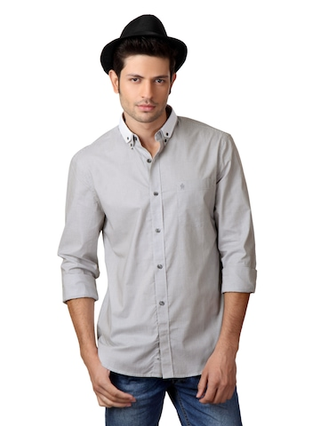 French Connection Men Grey Shirt