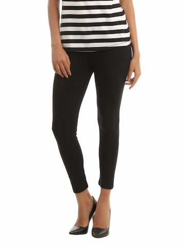 French Connection Women Black Legging