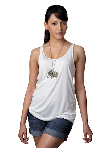 French Connection Women Cream Top