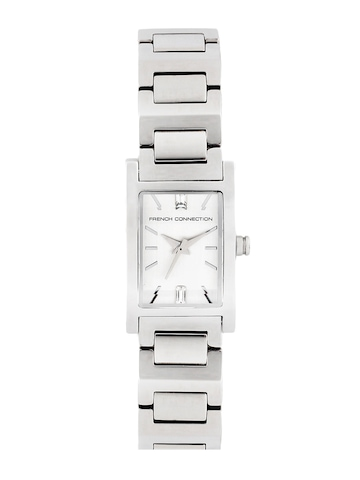FCUK Women Silver Dial Watch