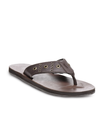 GAS Men Brown Madly Sandals