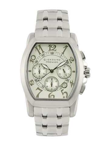 Giordano Men White Dial Watch at myntra