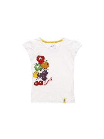 Gini and Jony Girls White T-shirt