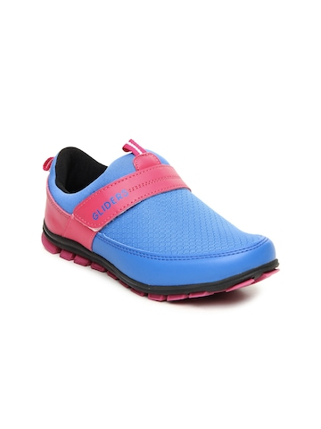 Gliders Women Blue & Pink Training Shoes