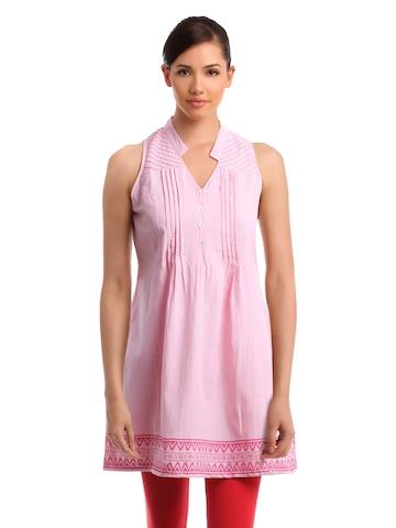 Global Desi Women Pink Tunic