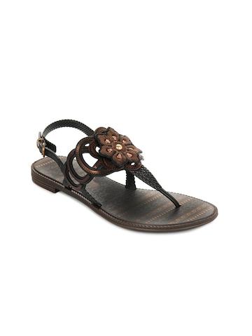 Grendha Women Jola Cigana Black Sandals