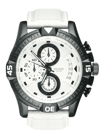 Guess Men Activator White Watch