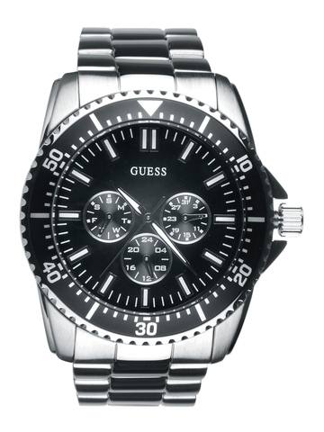 Guess Men Focus Steel Watch