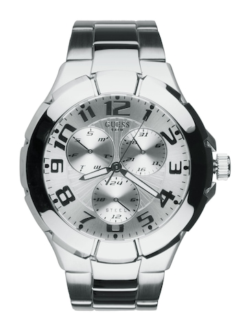 Guess Men Rush Steel Watch