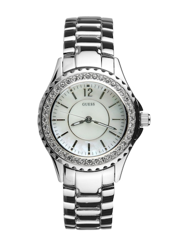 Guess Women Mini Rock Candy Silver Watch