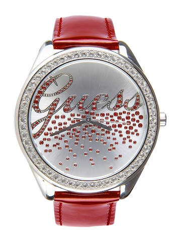 Guess Women Party Girl Red Watch