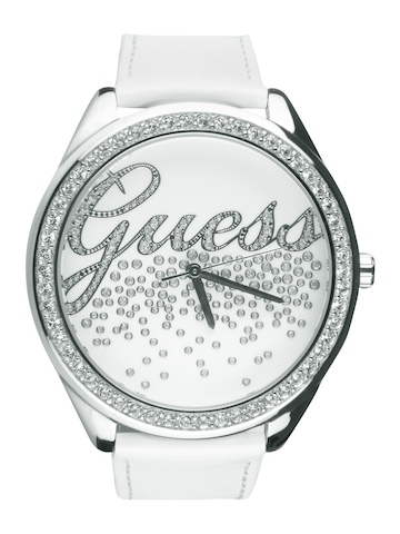Guess Women Party Girl White Watch