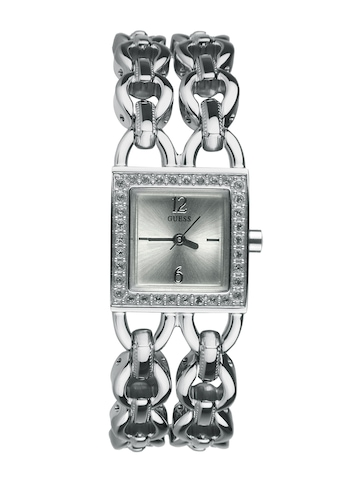 Guess Women Trapeze Steel Watch