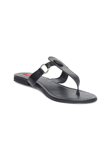 HM Women Black Sandals