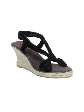 HM Women Black Wedges