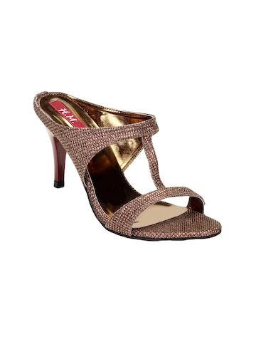 HM Women Bronze Heels