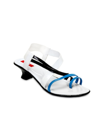 HM Women White Sandals