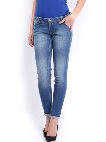 HRX Women Blue Indigo Dyed Jeans
