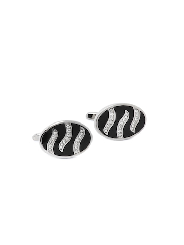 Hakashi Men Black Cufflinks