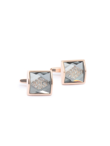 Hakashi Men Copper Cufflinks