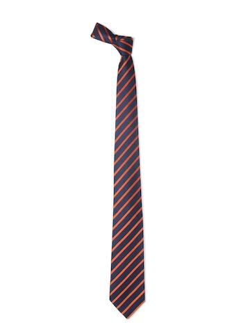 Hakashi Men Navy Blue Tie