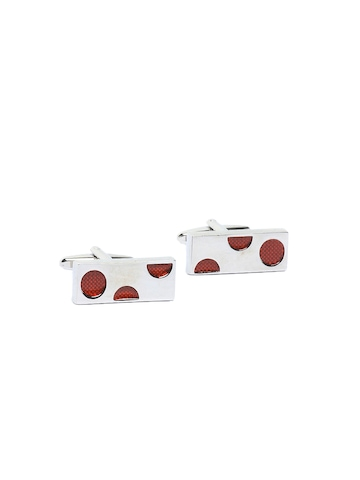Hakashi Men Red Cufflinks