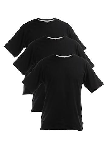 Hanes Men Black Crew Pack Of 3 Innerwear T-Shirts
