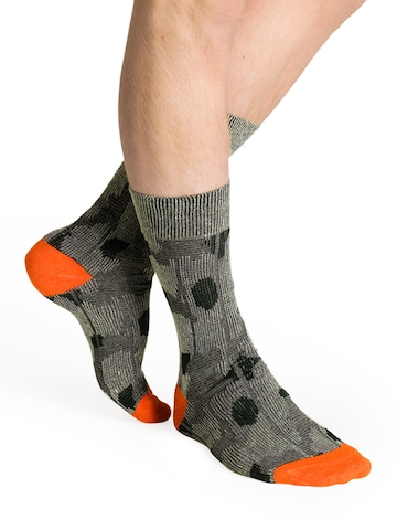 Happy Socks Unisex Green Socks