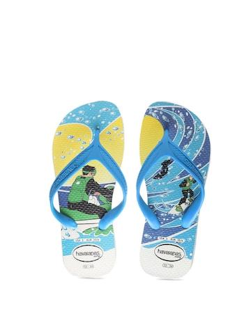 Havaianas Kids Blue Flip Flops