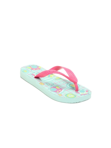Havaianas Kids Sea Green Flip Flops
