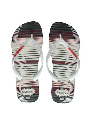 Havaianas Men White Flip Flops