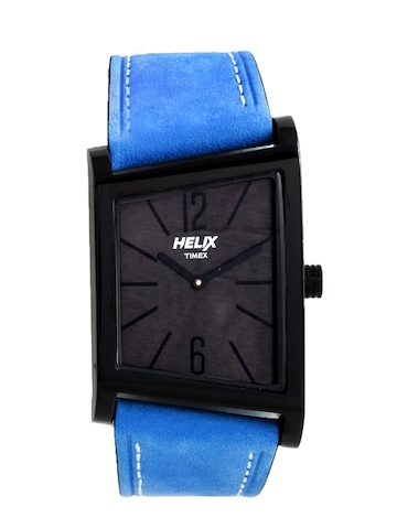 Helix Men Black Dial Watch