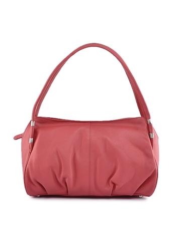 Hidekraft Women Leather Pink Handbag