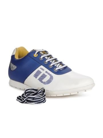 ID Men White & Blue Casual Shoes