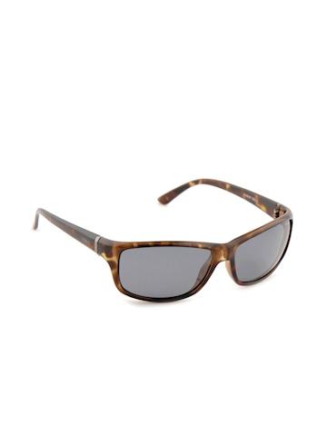 Idee Men Funky Eyewear Brown Sunglasses