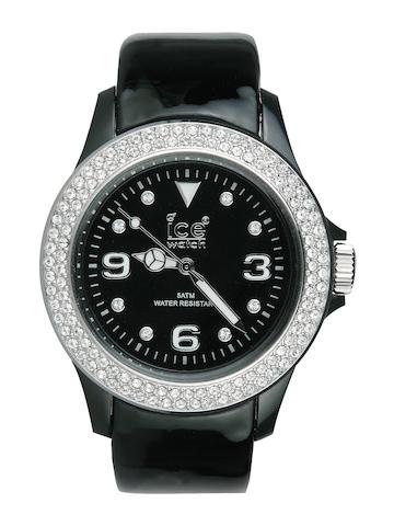 Ice Unisex Stone Black Watch