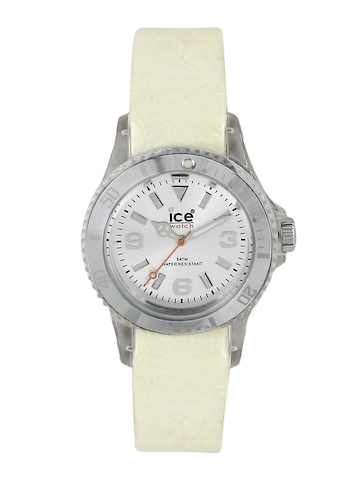 Ice Watch Women Flower White Watch