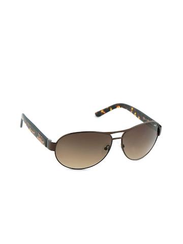 Image Men Classic Eyewear Brown Sunglasses