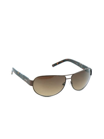 Image Men Classic Eyewear Brown Sunglasses