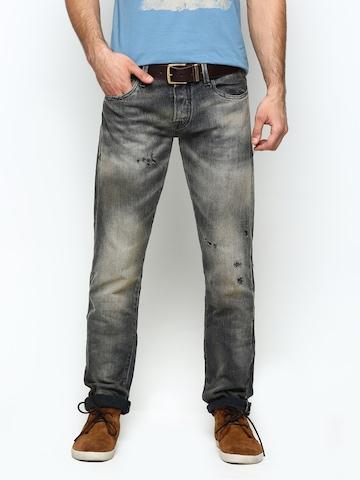 Jack & Jones Men Black Jeans at myntra